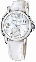 Replica Ulysse Nardin GMT Big Date 37mm Ladies Wristwatch 243-22/391
