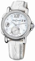 Replica Ulysse Nardin GMT Big Date 37mm Ladies Wristwatch 243-22B/391