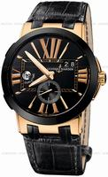 Replica Ulysse Nardin Executive Dual Time Mens Wristwatch 246-00-42
