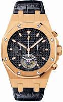Replica Audemars Piguet Royal Oak Chrono Tourbillon Mens Wristwatch 25977OR.OO.D002CR.01