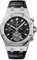 Replica Audemars Piguet Royal Oak Tourbillon Chronograph Mens Wristwatch 25977ST.OO.D002CR.01