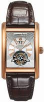 Replica Audemars Piguet Edward Piguet Large Date Tourbillon Mens Wristwatch 26009OR.OO.D088CR.01
