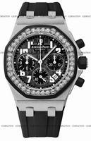 Replica Audemars Piguet Royal Oak Offshore Chronograph Ladies Wristwatch 26048SK.ZZ.D002CA.01