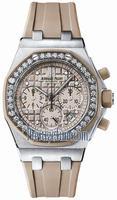Replica Audemars Piguet Royal Oak Offshore Chronograph Lady Wristwatch 26048SK.ZZ.D082CA.01