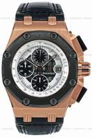 Replica Audemars Piguet Royal Oak Offshore Rubens Barrichello Chronograph Mens Wristwatch 26078RO.OO.D001VS.01