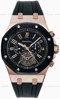 Replica Audemars Piguet Royal Oak Chrono Tourbillon Restivo Mens Wristwatch 26257OK.OO.D002CA.01