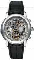 Replica Audemars Piguet Jules Audemars Tourbillon Chronograph Mens Wristwatch 26270PT.OO.D002CR.01