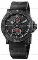 Replica Ulysse Nardin Black Ocean Mens Wristwatch 263-38LE-3