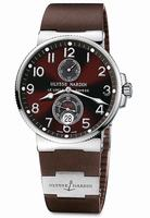 Replica Ulysse Nardin Maxi Marine Chronometer Mens Wristwatch 263-66-3-625