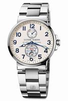 Replica Ulysse Nardin Maxi Marine Chronometer Mens Wristwatch 263-66-7