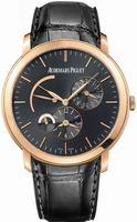 Replica Audemars Piguet Jules Audemars Dual Time Mens Wristwatch 26380OR.OO.D002CR.01
