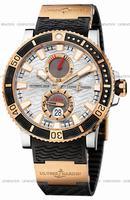Replica Ulysse Nardin Maxi Marine Diver Titanium Mens Wristwatch 265-90-3-91