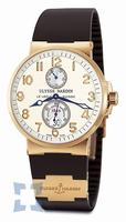 Replica Ulysse Nardin Maxi Marine Chronometer Mens Wristwatch 266-66-3