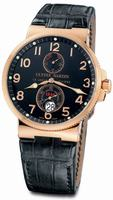Replica Ulysse Nardin Maxi Marine Chronometer Mens Wristwatch 266-66/62