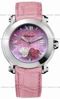 Replica Chopard Happy Sport Heart Ladies Wristwatch 278475-3004