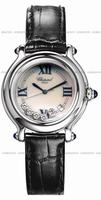 Replica Chopard Happy Sport Round Ladies Wristwatch 28896423W