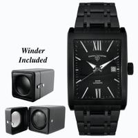 Replica SWISS LEGEND Limousine Mens Wristwatch 30012-BLK-BLK