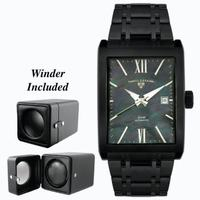 Replica SWISS LEGEND Limousine Mens Wristwatch 30012-BLK-MOPBLK