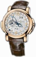 Replica Ulysse Nardin GMT +/- Perpetual 42mm Mens Wristwatch 326-60/60