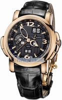 Replica Ulysse Nardin GMT +/- Perpetual 42mm Mens Wristwatch 326-60/62