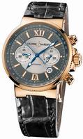 Replica Ulysse Nardin Maxi Marine Chronograph Mens Wristwatch 356-66/319