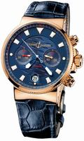Replica Ulysse Nardin Blue Seal Chronograph - Limited Edition Mens Wristwatch 356-68LE