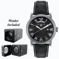 Replica SWISS LEGEND The President Mens Wristwatch 40039-BLK-ABT01C