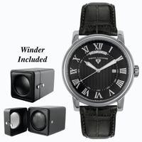Replica SWISS LEGEND The President Mens Wristwatch 40039-BLK-ABT01M