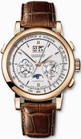 Replica A Lange & Sohne Datograph Perpetual Mens Wristwatch 410.032