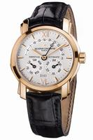 Replica Vacheron Constantin Perpetual Calendar Retrograde Mens Wristwatch 47031.000R-8955