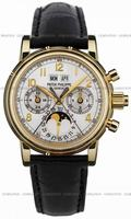 Replica Patek Philippe Split Seconds Chronograph Mens Wristwatch 5004J