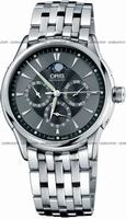 Replica Oris Artelier GMT Mens Wristwatch 58175924054MB