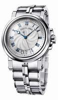 Replica Breguet Marine Automatic Big Date Mens Wristwatch 5817ST.12.SV0