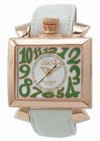 Replica GaGa Milano Napoleone Gold Plated Men Wristwatch 6001.2.WH