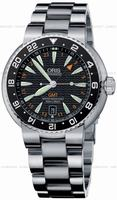 Replica Oris Divers GMT Date Mens Wristwatch 668.7639.84.54.MB
