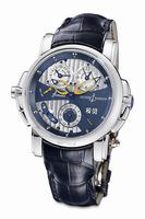 Replica Ulysse Nardin Sonata Cathedral Dual Time Mens Wristwatch 670-88-213