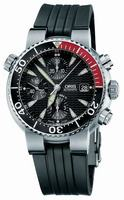 Replica Oris Diver Chronograph Mens Wristwatch 674.7542.71.54.RS
