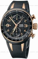 Replica Oris Williams TT3 Chronograph Mens Wristwatch 674.7587.77.64.RS