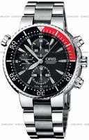 Replica Oris Diver Chronograph Mens Wristwatch 674.7599.71.54.MB