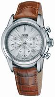 Replica Oris Artelier Chronograph Mens Wristwatch 676.7547.40.51.LS