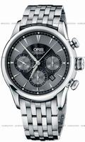 Replica Oris Artelier Chronograph Mens Wristwatch 676.7603.4054.MB