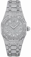 Replica Audemars Piguet Royal Oak Lady Quartz Wristwatch 67604BC.ZZ.1211BC.01