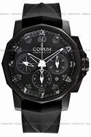 Replica Corum Admirals Cup Black Challenge 44 Mens Wristwatch 753.691.98-F371-AN12