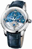 Replica Ulysse Nardin Royal Blue Mystery Tourbillon 43mm Medium Wristwatch 799-91
