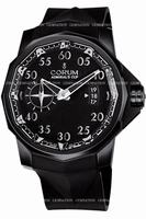 Replica Corum Admirals Cup Black Competition 48 Mens Wristwatch 947.931.94-0371.AN52