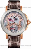 Replica Gerald Genta Arena Chrono Quattro Retro Mens Wristwatch ABC-Y-55-395-CB-BD