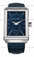 Replica Azzaro Legend Rectangular 2 Hands Mens Wristwatch AZ2061.12EE.000