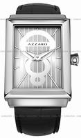 Replica Azzaro Legend Rectangular 2 Hands Mens Wristwatch AZ2061.12SB.000