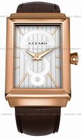 Replica Azzaro Legend Rectangular 2 Hands Mens Wristwatch AZ2061.52AH.000