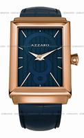 Replica Azzaro Legend Rectangular 2 Hands Mens Wristwatch AZ2061.52EE.000